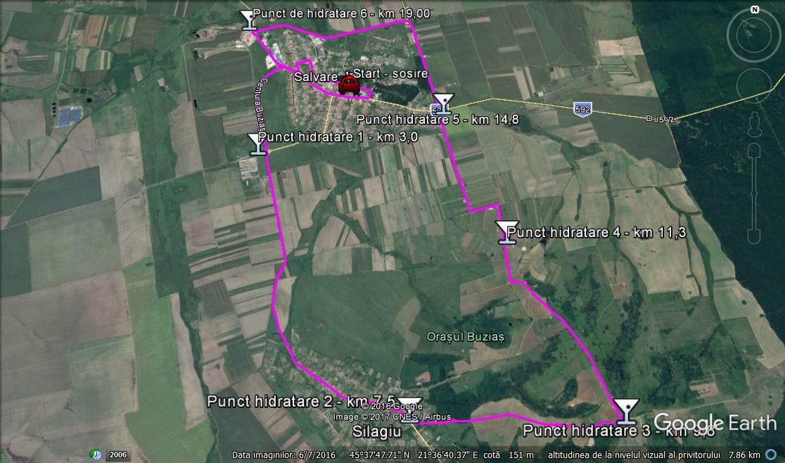 Semimaraton trail running 21,3 km